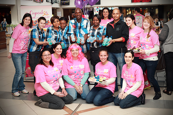 National Cupcake day at 55 Malls in South-Africa on 27 September 2014