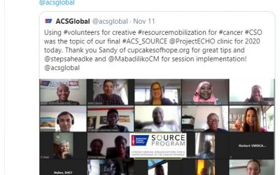 Our 1st international online presentation…