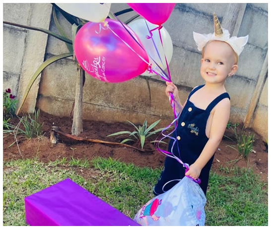 Payton is in remission